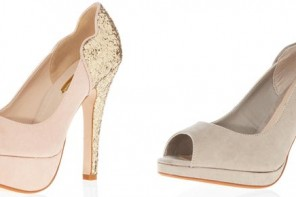 Glitter heel peep toes from Dorothy Perkins