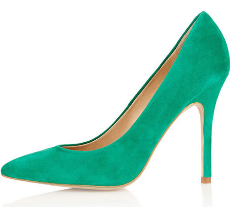 Green heels at Heels.com! Check out our green shoes today
