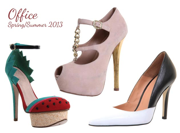 Spring/Summer 2013 Shoe Preview: Office