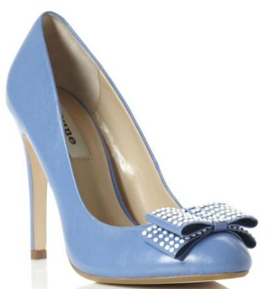 Dune Abode court shoes with high heel and bow