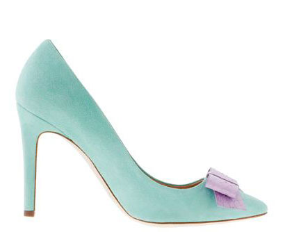 J Crew Collection 'Contessa' snakeskin bow pumps
