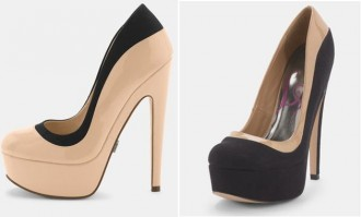 Lipsy Simone Platform Court Shoes