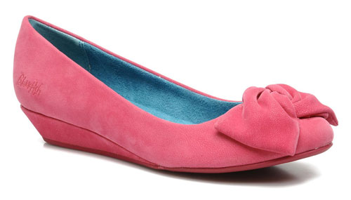 Blowfish 'Girlie' low wedge ballet pumps > Shoeperwoman