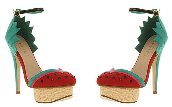 I own three pairs of shoes, none of which look like a watermelon, but if I were a little more fashionably bold (and three years old), I might change my