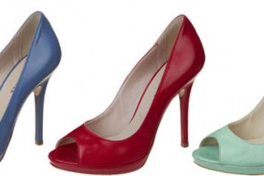 peep toe shoes in a range of colours