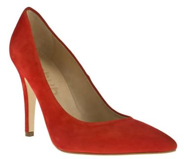 Schuh 'Darling Do' red suede stilettos