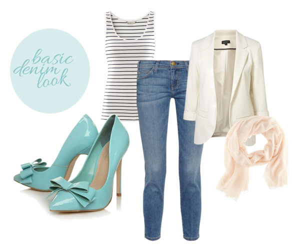 jeans outfit with Carvela Assemble pumps