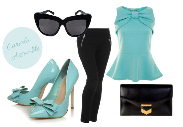 outift featuring Carvela Assemble pumps