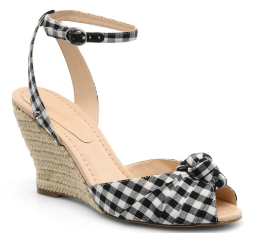 f8727b8afcc Guess gingham wedge espadrilles   Shoeperwoman