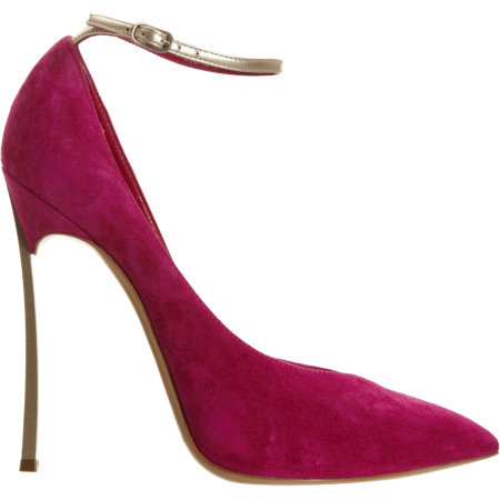 Casadei Blade in red suede