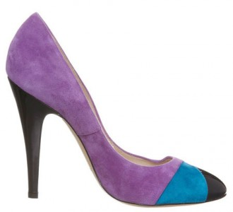 Casadei purple high heels