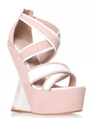 pink plexiglass wedges