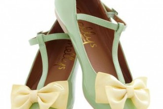 green t-bar shoes with flats