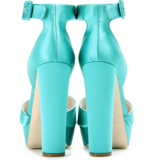 turquoise heels