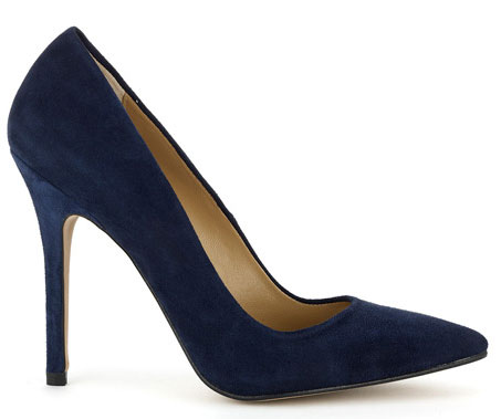 navy stiletto shoes
