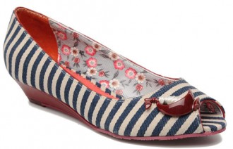 nautical wedge shoes