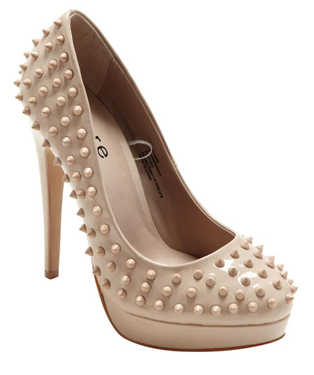 nude platforms with sikes