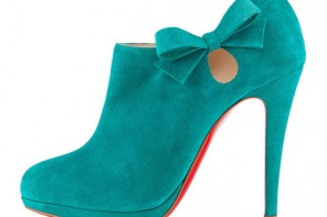 Christian Louboutin Belnodo ankle boots in teal