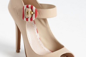 nautical buckle pumps