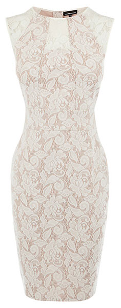 lace pencil dress