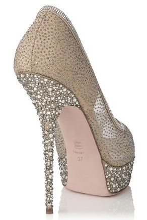 jewelled stiletto heel