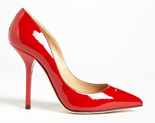 Red Multi Heeled Shoes