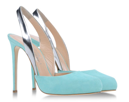 Cheap Christian Louboutin Ron Ron 100mm Suede Pumps Turquoise Sale