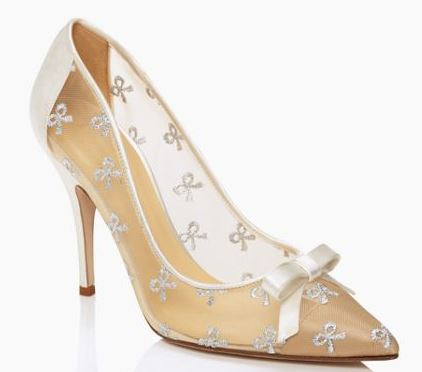 Kate Spade 'Lisa' bow pumps