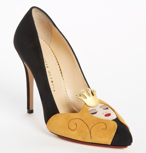 Charlotte Olympia 'Sleeping Beauty' pumps