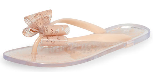 4c69527988462 Pink lace bow sandals from Dorothy Perkins