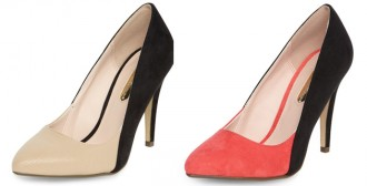 Dorothy Perkins two-tone shoes