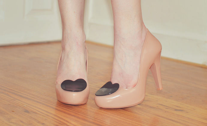 Melissa heart shoes