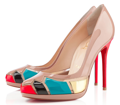 Christian Louboutin Astrogirl patent