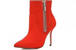 red-ankle-boots