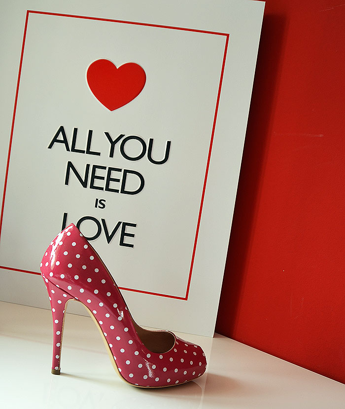 All you need is love and shoes