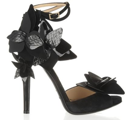 Jimmy Choo black 'Tallulah' sandals