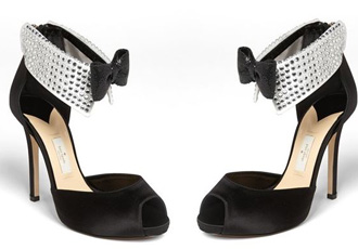 black tie shoes by Kate Spade