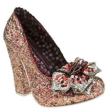 irregular choice lola antique rose court high heels