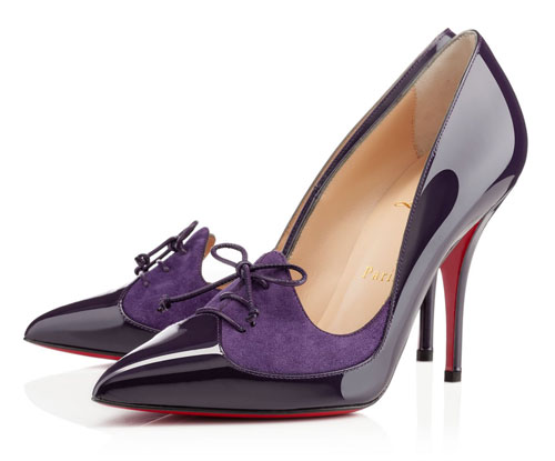 Friday Fix | Christian Louboutin Queue de Pie patent