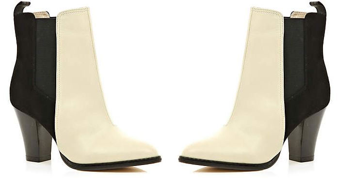 River Island two-tone ankle boots
