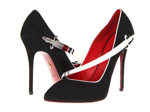 Cesare Paciotti 'sword' pumps