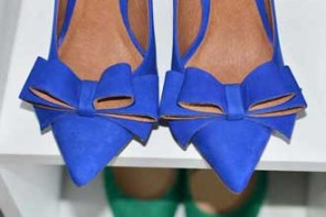 Shoe Review | Buffalo 'Bifa' blue bow shoes