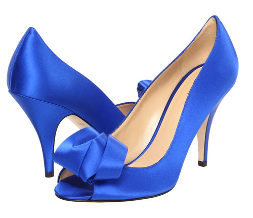 Kate Spade 'Clarice' pumps in blue