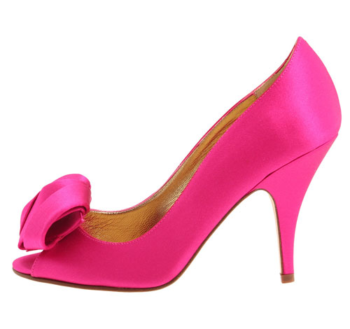 pink high heel shoes by Kate Spade