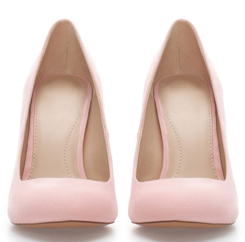 0c3066ff4ad Pale pink pumps from Zara > Shoeperwoman
