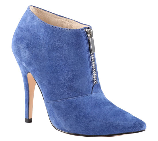 ALDO 'Sherly' blue suede shoe boots