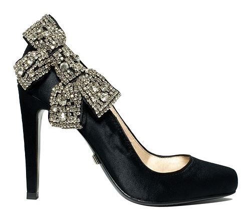 ABS by Allen Schwartz Sabrena Bling Bow Pumps