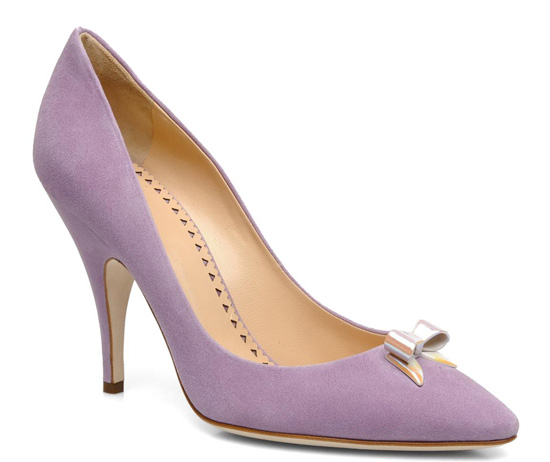 lilac suede shoes