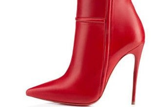 red-knee-high-boots