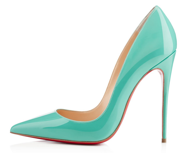 Christian Louboutin So Kate in Aquamarine